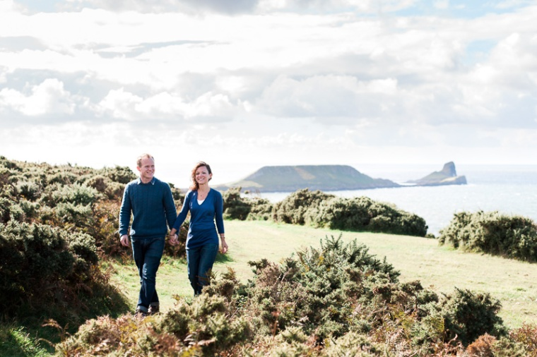 Wales Rhossili Bay Engagement Photographer-23