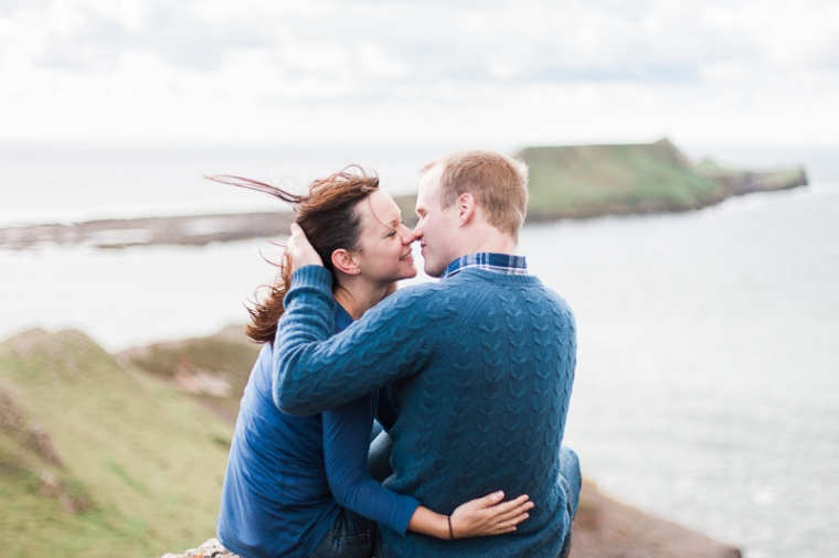 Wales Rhossili Bay Engagement Photographer-54
