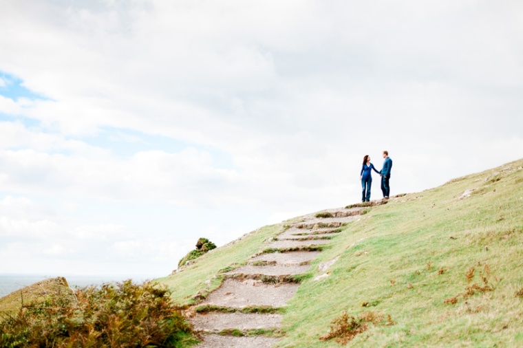 Wales Rhossili Bay Engagement Photographer-56