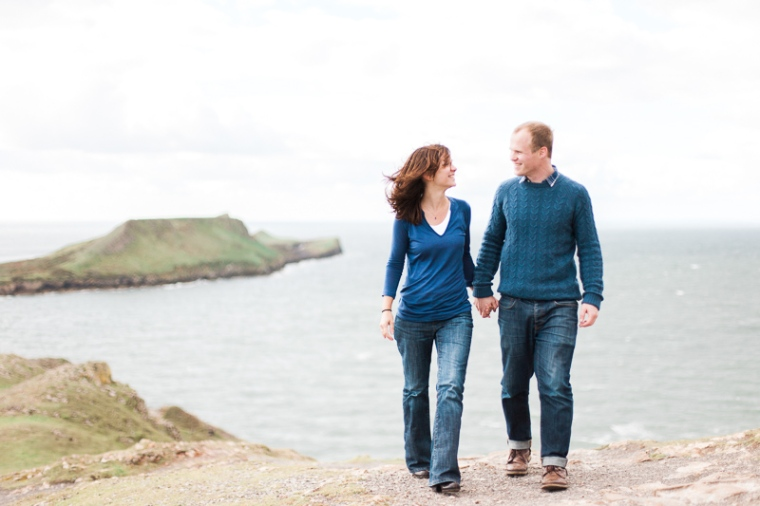 Wales Rhossili Bay Engagement Photographer-64