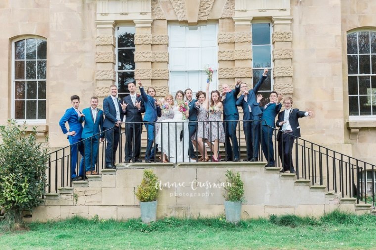 Bristol Wedding Kingsweston House Annie Crossman Photography-364