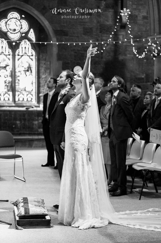 Bristol Wedding Woodlands Church Annie Crossman Photography-229