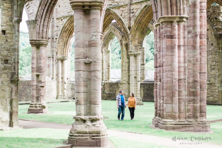 Engagement Shoot Tintern Abbey Wales Bristol Annie Crossman Photography-2