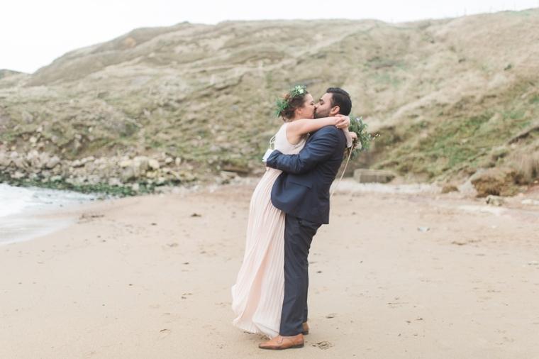 Annie Crossman Photography Lulworth Cove Durdle Door Dorset Engagement Shoot-007