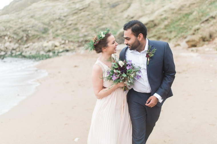 Annie Crossman Photography Lulworth Cove Durdle Door Dorset Engagement Shoot-009