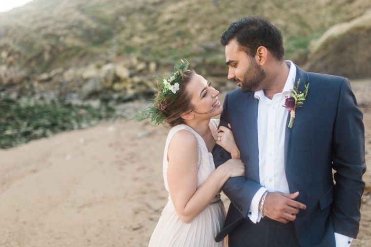 Annie Crossman Photography Lulworth Cove Durdle Door Dorset Engagement Shoot-022
