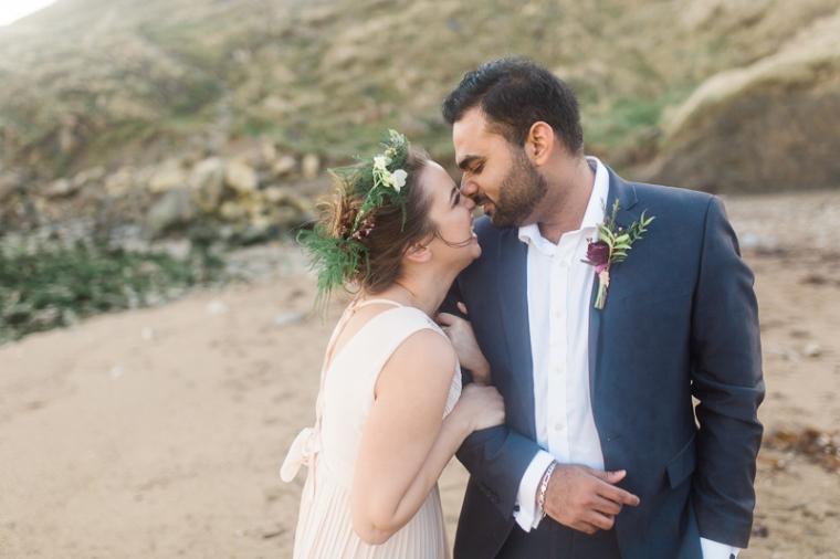 Annie Crossman Photography Lulworth Cove Durdle Door Dorset Engagement Shoot-023