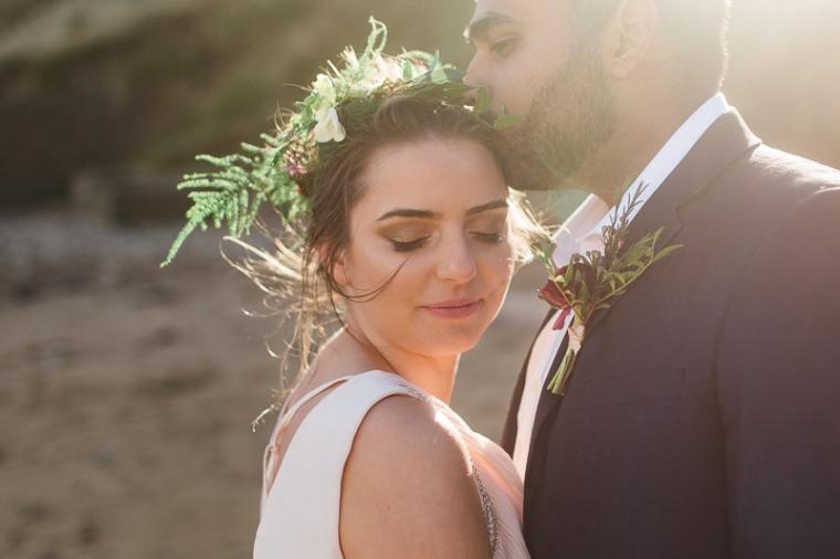 Annie Crossman Photography Lulworth Cove Durdle Door Dorset Engagement Shoot-025