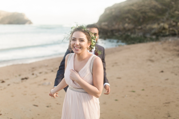 Annie Crossman Photography Lulworth Cove Durdle Door Dorset Engagement Shoot-031