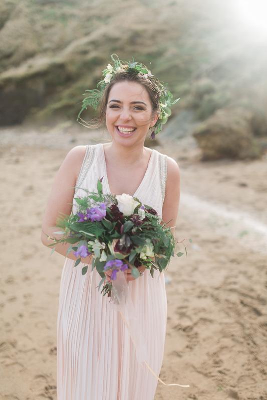 Annie Crossman Photography Lulworth Cove Durdle Door Dorset Engagement Shoot-040