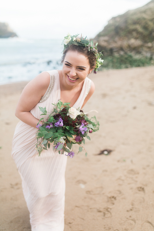 Annie Crossman Photography Lulworth Cove Durdle Door Dorset Engagement Shoot-045
