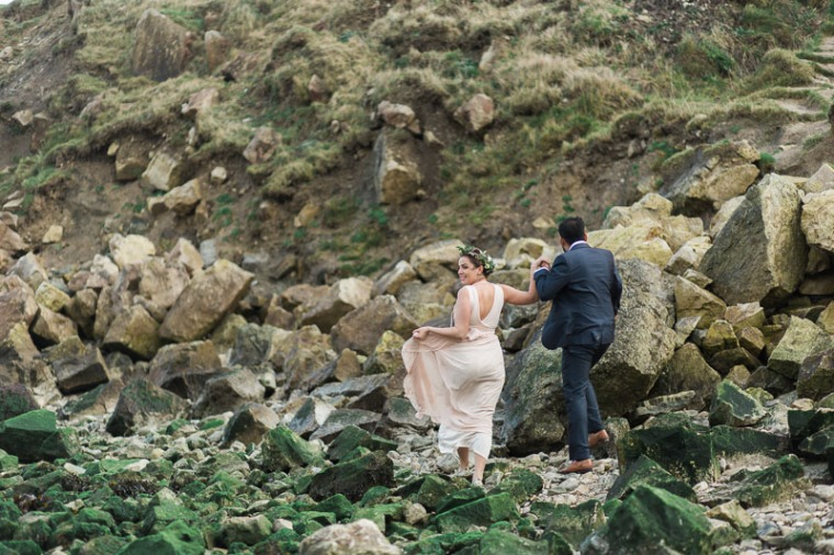 Annie Crossman Photography Lulworth Cove Durdle Door Dorset Engagement Shoot-051