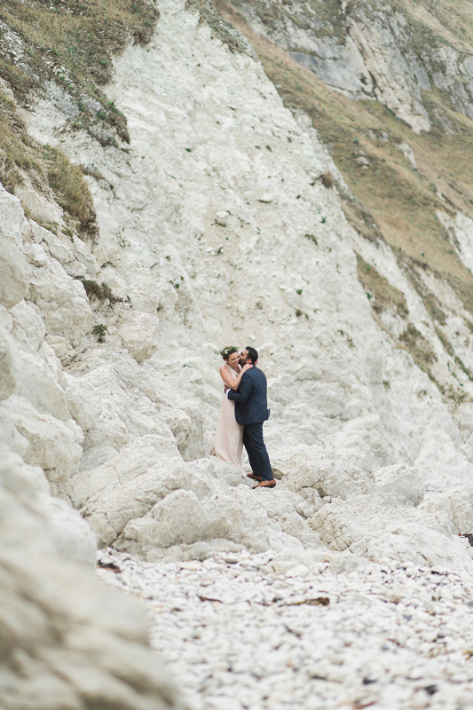 Annie Crossman Photography Lulworth Cove Durdle Door Dorset Engagement Shoot-063