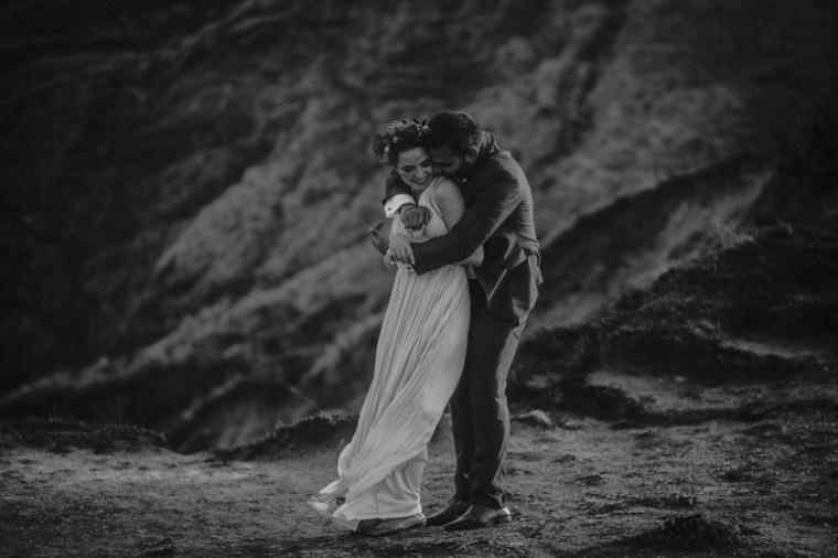 Annie Crossman Photography Lulworth Cove Durdle Door Dorset Engagement Shoot-073