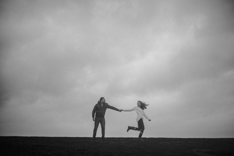 Annie Crossman Photography Lulworth Cove Durdle Door Dorset Engagement Shoot-095