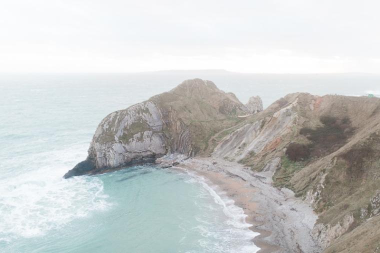 Annie Crossman Photography Lulworth Cove Durdle Door Dorset Engagement Shoot-099