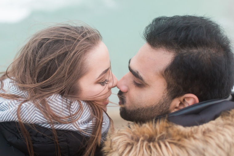 Annie Crossman Photography Lulworth Cove Durdle Door Dorset Engagement Shoot-101