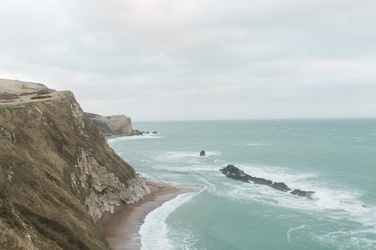 Annie Crossman Photography Lulworth Cove Durdle Door Dorset Engagement Shoot-103