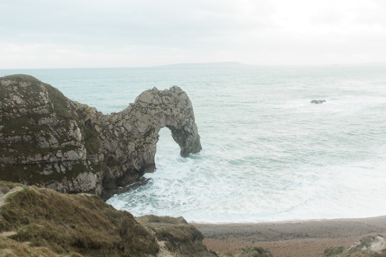 Annie Crossman Photography Lulworth Cove Durdle Door Dorset Engagement Shoot-110