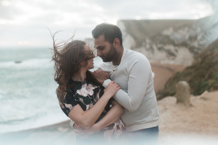 Annie Crossman Photography Lulworth Cove Durdle Door Dorset Engagement Shoot-117