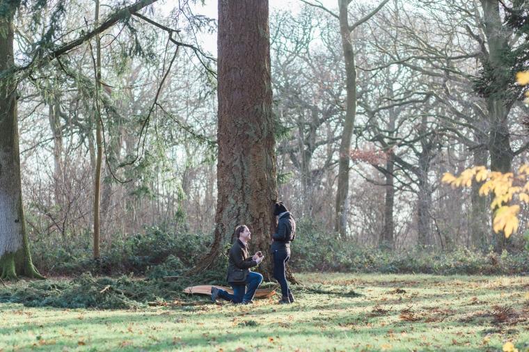 Westonbirt Arboretum Proposal Engagement Photos Bristol Annie Crossman Photography-011