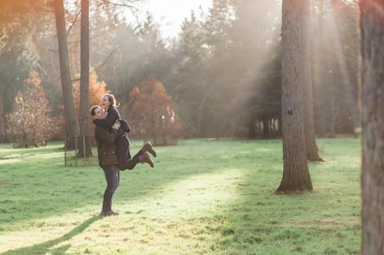 Westonbirt Arboretum Proposal Engagement Photos Bristol Annie Crossman Photography-064